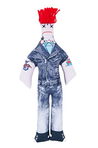 Dammit Doll - Dammit Family - Rebellious Rocker - Im Almost Famous, Dammit! - Stress Relief, Gag Gift