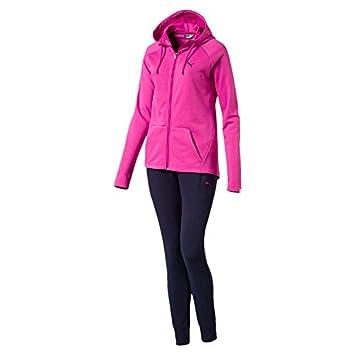 Puma Clean Sweat Suit Cl W Survêtement pour Femme XL Rose
