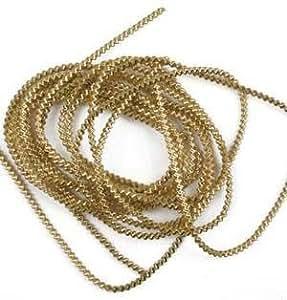 Bouillon-alambre, oro, longitud: 2 m, grosor: 1,5 mm