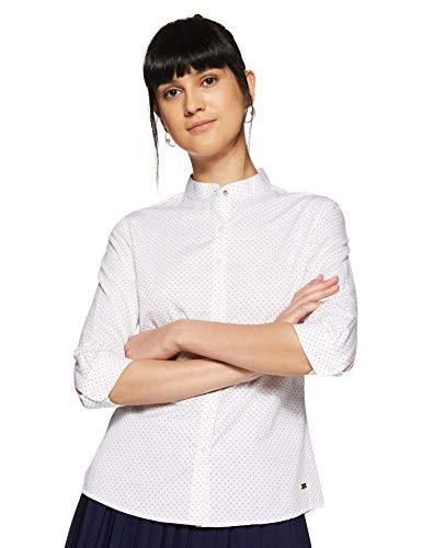 Park Avenue Women Plain Regular Fit Shirt