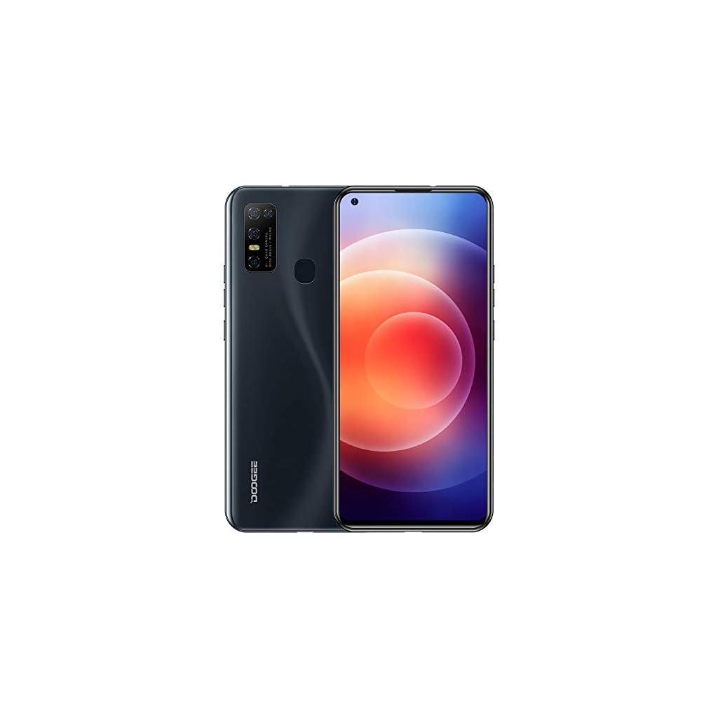Unlocked-Smartphone-DOOGEE-N30-2021-Mobile-Phone-4GB128GB-Triple-Rear-Camera-655-Infinity-Display-Android-100-4500mAh-4G-Dual-SIM-Phones-Black
