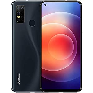 Unlocked Smartphone DOOGEE N30 (2021) Mobile Phone 4GB+128GB Triple Rear Camera 6.55″ Infinity Display Android 10.0 4500mAh 4G Dual SIM Phones Black