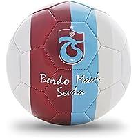 Trabzonspor 1Nbtptsfirtinan2 Futbol Topu, Unisex, Beyaz/Bordo, L