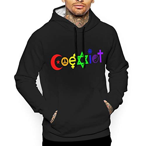 Rainbow Coexist Men's 3D Sweatshirt Hoodie Pullover