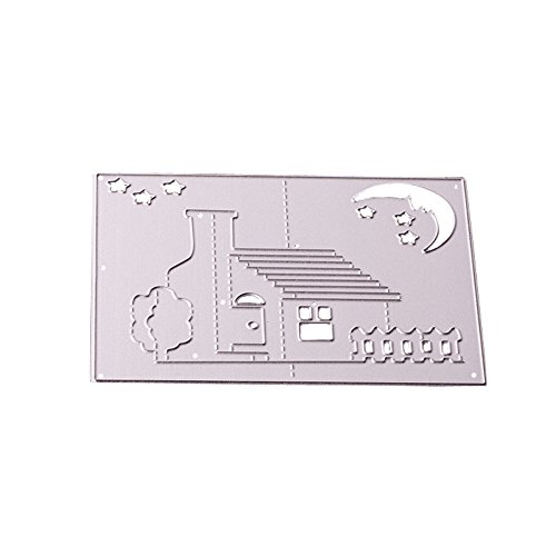 Cutting Dies,IHGTZS Father's Day DIY Photo Album Metal Die-Cut Stencils For Scrapbooking Paper Card Gift for father Metal Die Cutting Dies Stencil For DIY Scrapbooking Album Paper Card Decor Craft