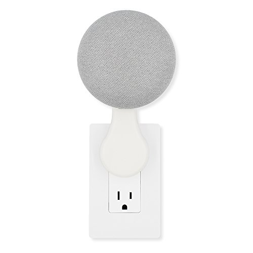 Nothing Like This Mini - Plug-in Mount - Accessory for Google Home Mini (White)
