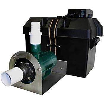 Hi & Dry Battery Backup Sump Pump (RH-1400) - Prevent