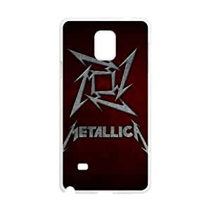 Metallica Samsung Galaxy Note 4 Cell Phone Case White yyfabd-203312