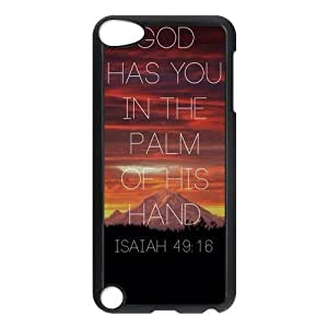 Fashion Protection Bible Verse Life Quotes Design Hard Cover Case for Iphone 5/5S