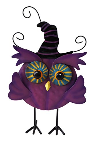 Cute Witchy Owl Halloween Greeter Standing Figure (Cute Halloween Trick Or Treaters)