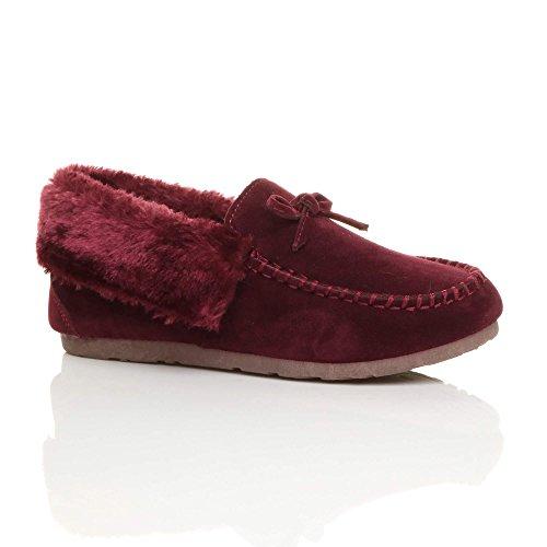 Ajvani Donna Pantofole Pantofole Donna Ajvani Burgundy Pantofole Donna Ajvani Burgundy rUwdHYpqw