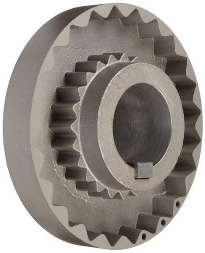MARTIN 12S 3 7/16 Quadraflex Coupling Flange, Cast Iron, ...