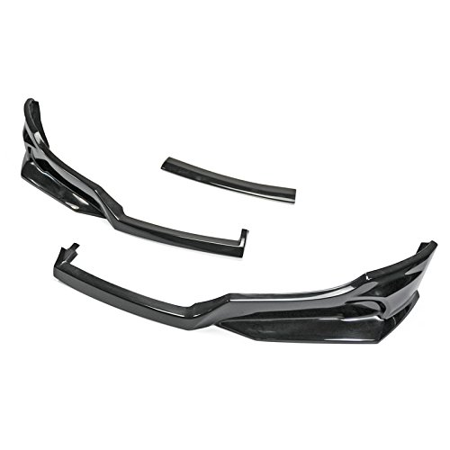EPR FRP Fiber Glass For Hyundai Veloster F35 Style Front Bumper Bottom Lip 3Pcs (Non Turbo (Front Lip Fiberglass)