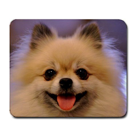 Pomeranian Large Mousepad (Office Halloween Costume Rules)