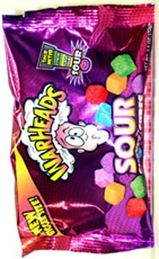 UPC 032134232200, Warheads - Sour Chewy Cubes 70g