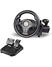 DOYO 270 Degree Rotation Pro Sport Racing Wheel for Multi Platform (PS3/PS4/XBOX ONE/XBOX360/PC/NS SWITCH/Android)