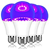 Neporal LED-Black-Light-Bulbs, 9W 75W Equivalent UV