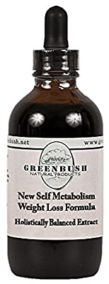 New Self Metabolism and Weight Loss Formula. Concentrated Alcohol-Free Liquid Extract with Green Tea and Yerba Mate. Value Size 4oz Bottle (120ml) 240 Doses of 500mg. 1:1 Strength: 1ml = 1000mg