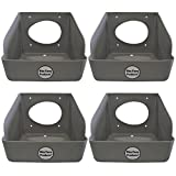 4 PACK RITE FARM PRODUCTS WASHABLE POLY EGG NESTING BOX CHICKEN LAYING COOP NEST