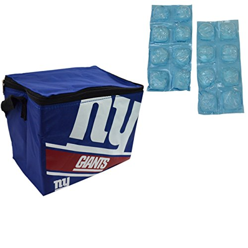 Forever NFL Shop Collapsible Insulated Lunch Bag with Re-...