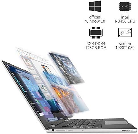 2 in 1 Laptop jumper x1 Windows 10 Laptop FHD Touchscreen Display Laptop Computer 11.6 inch 6GB RAM 128GB ROM 41RVlpk6H8L