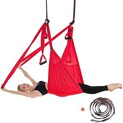 Yuanu Multifuncional Yoga Hamaca/Swing/Silla Colgante Aéreo ...
