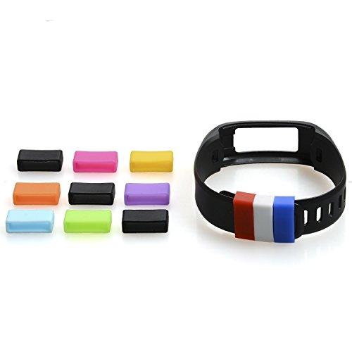 The Friendly Swede 12 Stück Silikonringe für Samsung Gear Fit Armband - passendes Zubehör für Ihre Samsung Gear Fit