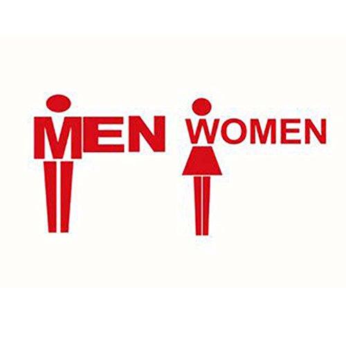 トイレサインセット3ラベルステッカーWCバスルーム洗面所マークステッカーの商品画像