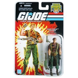 Joe Tiger (G.I. Joe - 2007 - Hasbro - 25th Anniversary - Tiger Force Leader - Code Name: Flint Action Figure - w/ Base & Accessories - New - Limited Edition - Collectible)