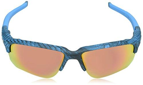 Rubyiridium Aero 67 Grid Bleu Draft 936410 Flak Sky de Montures Homme Oakley Lunettes RPFBwAxq