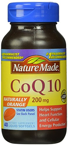 Природа Сделано CoQ10 200 мг, 40 Softgels