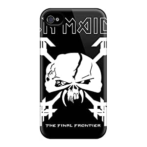 Iphone 4/4s XVW1727qzgF Allow Personal Design Vivid Death Band Skin Shock-Absorbing Hard Phone Covers -TimeaJoyce