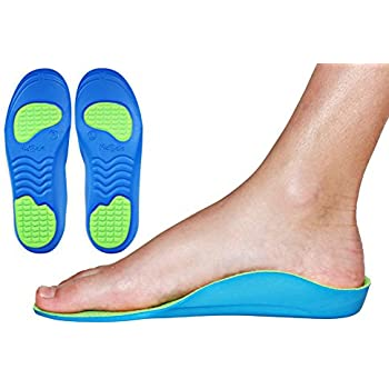 5a41113f4d Neon Fix Premium Grade Orthotic Insole by KidSole For Flat Feet and Arch  Support (20 CM) Kids Size 12-1.5