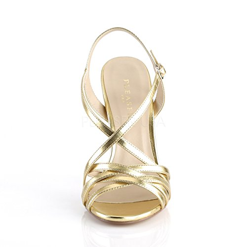 Sandal Amuse Mat Pu Women's 13 Gold Pleaser A15qwtHx1