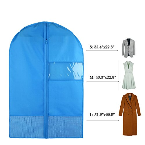 Favorest Breathable Dust-Proof Garment Bag with Clear Window
