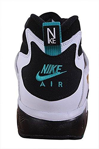 Nike Heren Diamant Turf Zwart / Emerald / Wit Trainers Tennisschoen