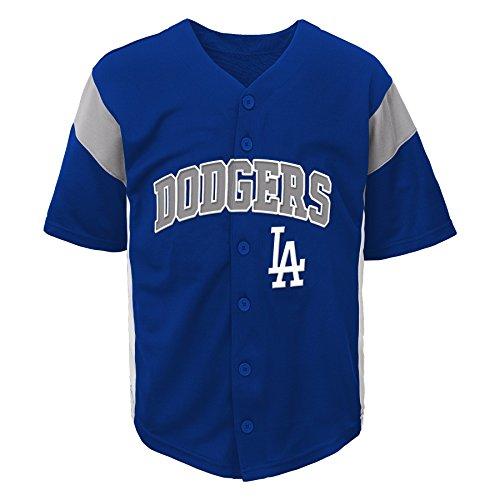MLB Los Angeles Dodgers Boys Fashion Jersey, Deep Royal, 4/5