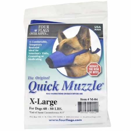 Four Flags Quick Muzzle for Dogs XLarge