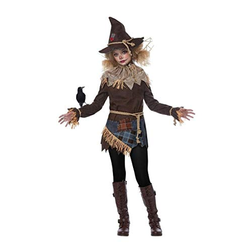 Creepy Scarecrow Girl Child Costume California -