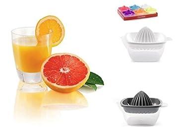 aucune plasticforte Corte Transparente Manual exprimidor de citricos lextracción y vierta naranjas en Colores