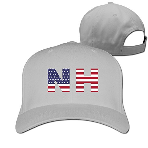 Nh State Of New Hampshire Flag Adjustable Fitted Hat Baseball Cap - Games Syracuse Bowl