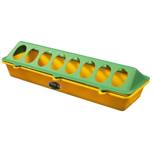 30cm Plastic Chick Feeder Green and Yellow Country Fayre (UK) Ltd PW02-0010