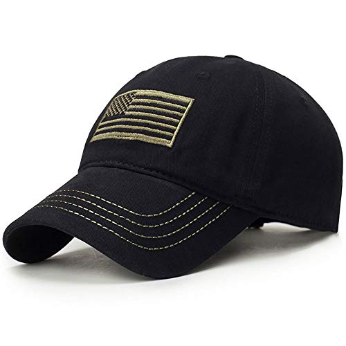1601e6f8c87 ECOATUP New Men USA Flag Camouflage Baseball Cap Army Embroidery Cotton  Tactical Snapback Dad Hat Male