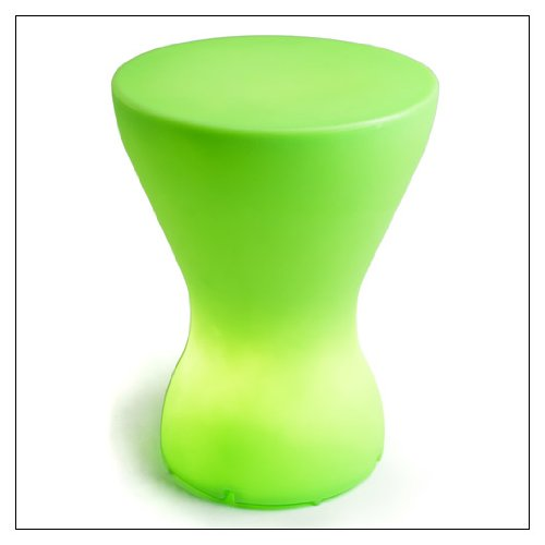 Bongo Lamp Stool - OFFI Co. Bongo - Lamp/Stool, color = Misty Green
