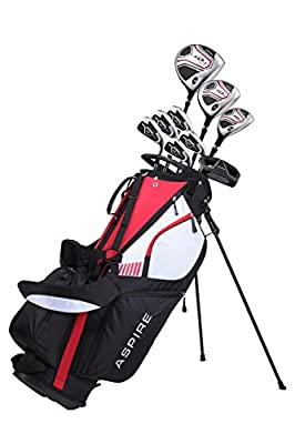 Premium Men's Senior Complete Golf Club Set Right Handed, Senior Flex for Great Performance