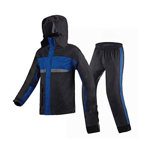 Bleu grand JTWJ Pantalon imperméable imperméable imperméable imperméable (Couleur   rouge, Taille   M)