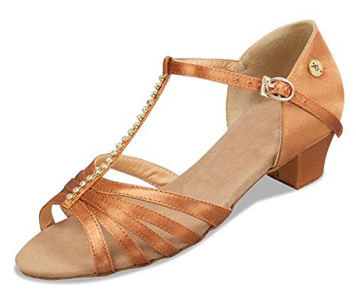 Minitoo - salón mujer Brown-5cm Heel