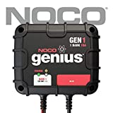 NOCO Genius GEN1 12V 1-Bank 10-Amp Smart On-Board Waterproof Battery Charger