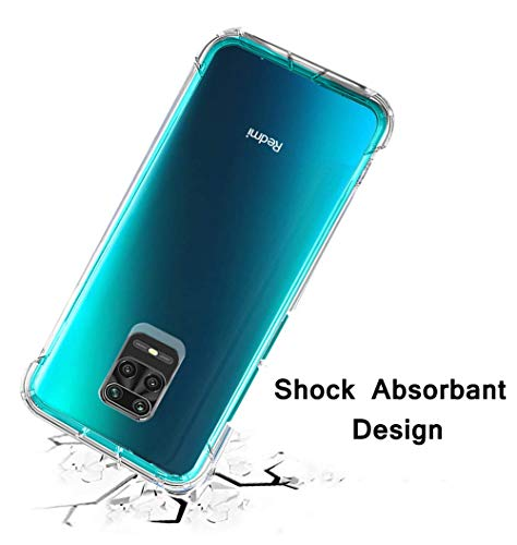 Transparent Back Cover Case for Redmi Note 9 pro