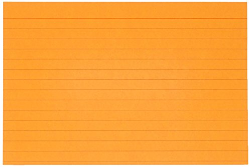 AmazonBasics Ruled Index Cards, Assorted Neon, 4x6-Inch, 300-Count Photo #3